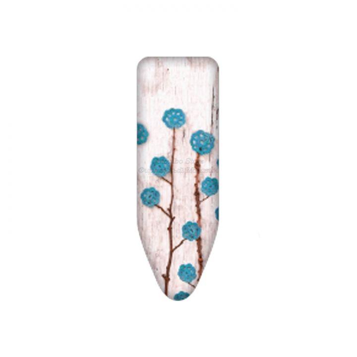 Чехол для гладильной доски Colombo Fiori di lana 124х46