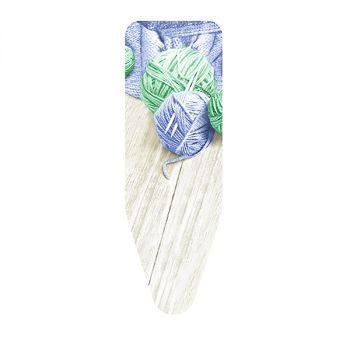 Чехол для гладильной доски Colombo Gomitoli синий/зеленый 124х46